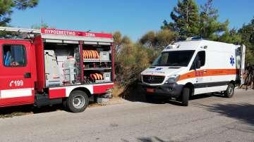 В Гърция е обявена най-висока степен на готовност за пожари
