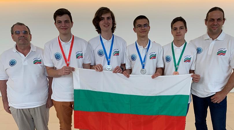 С един златен, два сребърни и един бронзов медал се