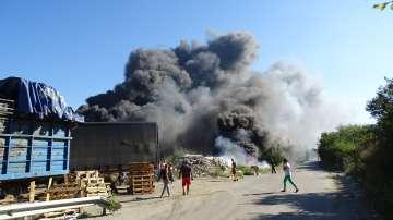 Пътната агенция поиска разследване за пожара на магистрала Струма