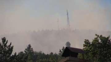 Пожарникарите потушиха пожара в Искърското дефиле