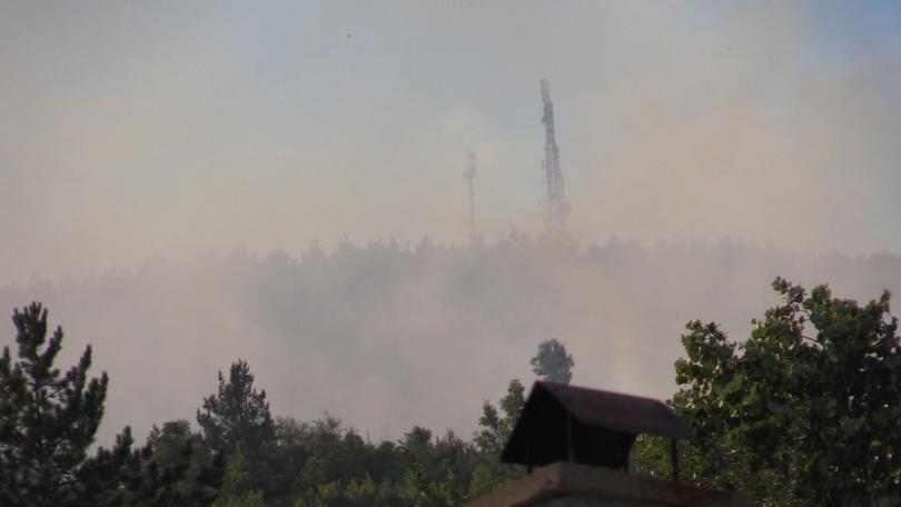 Потушен е големият пожар в Искърското дефиле. Пламъците се разгоряха