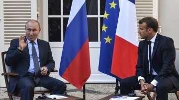 Владимир Путин пристигна на посещение във Франция