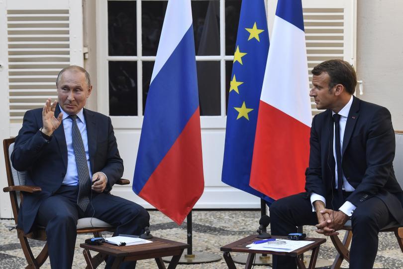 Президентът на Русия Владимир Путин е на работно посещение във