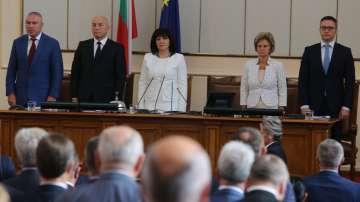 Новата парламентарна сесия започна с остър тон в пленарната зала