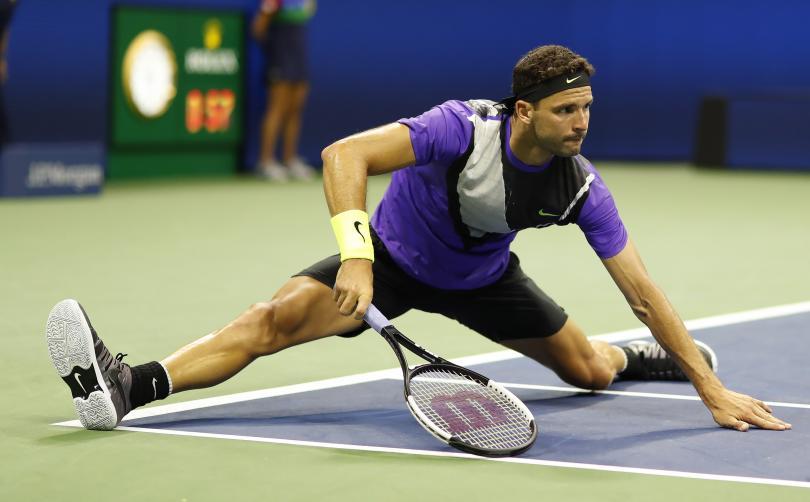 снимка 1 Григор Димитров се класира за първи път на полуфинал на US Open