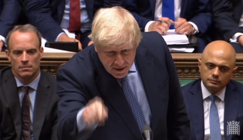 джонсън предложи предсрочни избори великобритания октомври