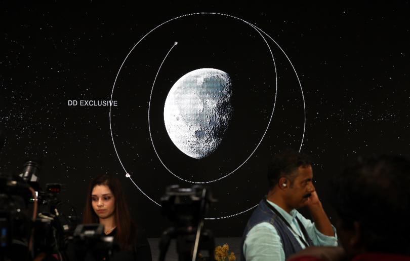 индия загуби връзка лунния модул снимки