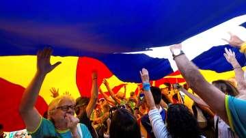 В Барселона отпразнуваха Ла Диада