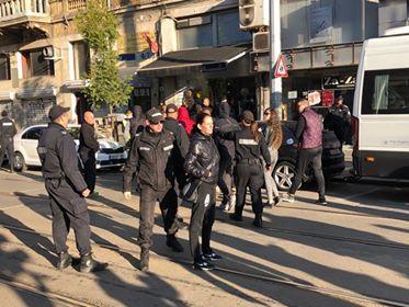 снимка 3 Безпрецедентни са мерките за сигурност в района около ВСС