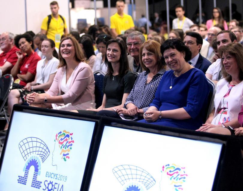 снимка 1 В София се провежда европейски конкурс за млади учени
