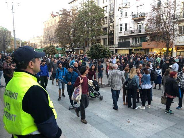 снимка 1 Пореден протест срещу номинацията на Гешев за главен прокурор