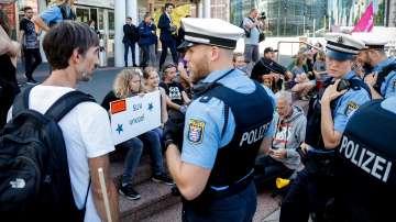 Протест във Франкфурт поиска по-екологичен транспорт