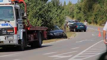 Катастрофа с кортежа на Цвета Караянчева край Хитрино