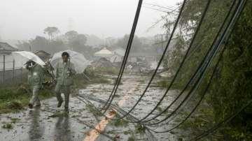 Властите препоръчват евакуация на 11 млн. японци заради тайфуна Хагибис