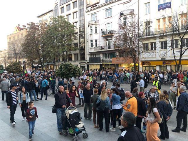 снимка 2 Пореден протест срещу номинацията на Гешев за главен прокурор