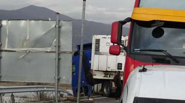 Възстановено e движението по автомагистрала Струма, след катастрофата на ТИР