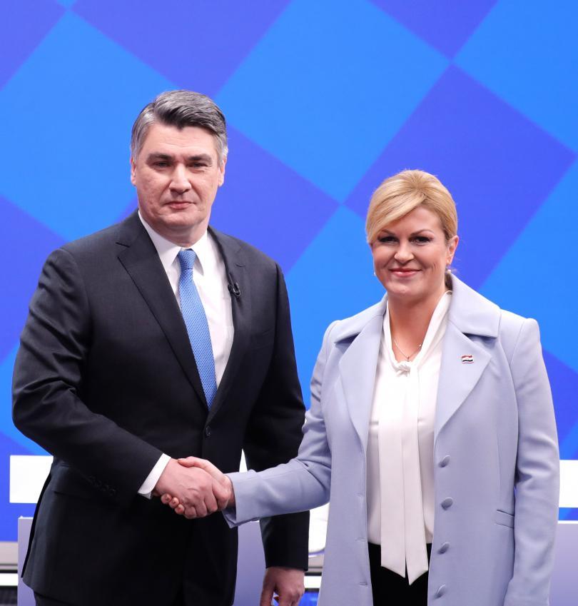 снимка 1 Хърватия избира президент на балотаж в неделя