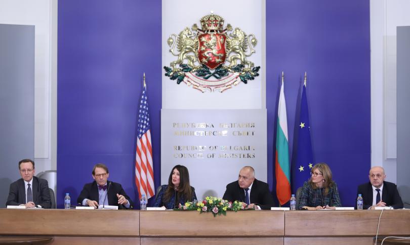 снимка 1 Започна първата сесия на Стратегическия диалог България-САЩ