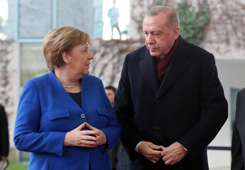 снимка 3 Световните лидери се събраха на среща в Берлин за конфликта в Либия (СНИМКИ)