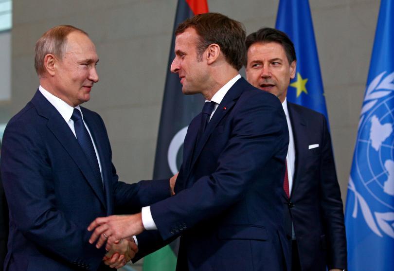 снимка 4 Световните лидери се събраха на среща в Берлин за конфликта в Либия (СНИМКИ)