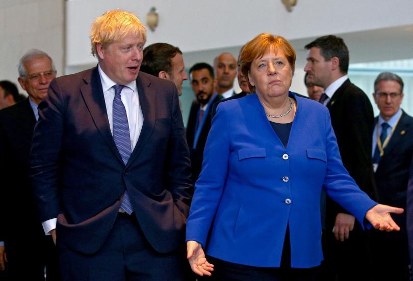 снимка 5 Световните лидери се събраха на среща в Берлин за конфликта в Либия (СНИМКИ)
