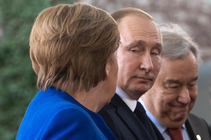 снимка 7 Световните лидери се събраха на среща в Берлин за конфликта в Либия (СНИМКИ)