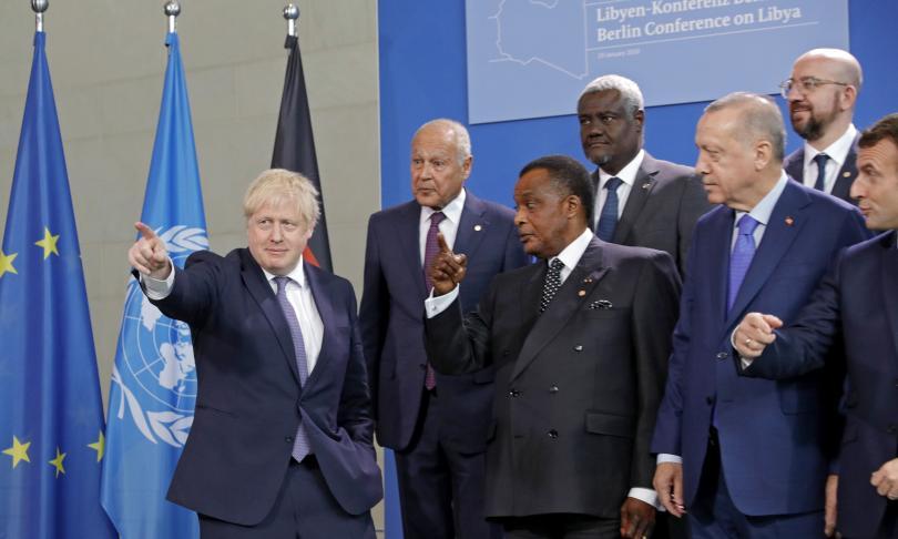 снимка 9 Световните лидери се събраха на среща в Берлин за конфликта в Либия (СНИМКИ)