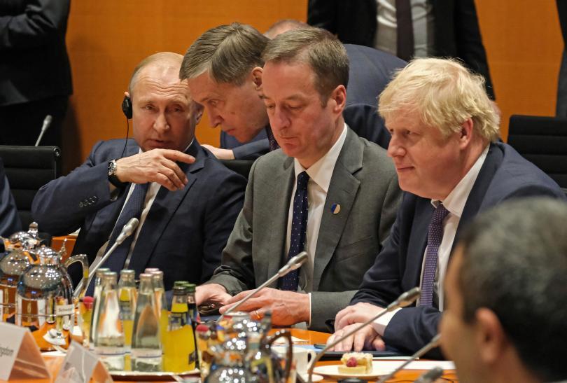 снимка 11 Световните лидери се събраха на среща в Берлин за конфликта в Либия (СНИМКИ)
