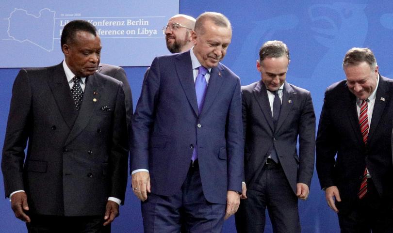 снимка 13 Световните лидери се събраха на среща в Берлин за конфликта в Либия (СНИМКИ)
