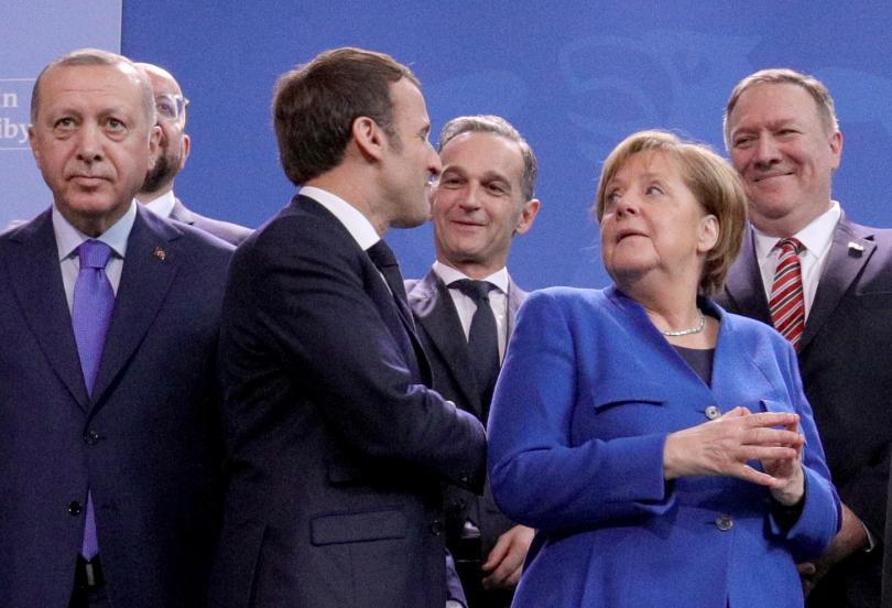 снимка 14 Световните лидери се събраха на среща в Берлин за конфликта в Либия (СНИМКИ)