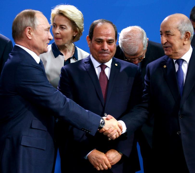 снимка 18 Световните лидери се събраха на среща в Берлин за конфликта в Либия (СНИМКИ)