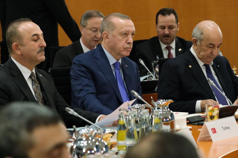 снимка 19 Световните лидери се събраха на среща в Берлин за конфликта в Либия (СНИМКИ)