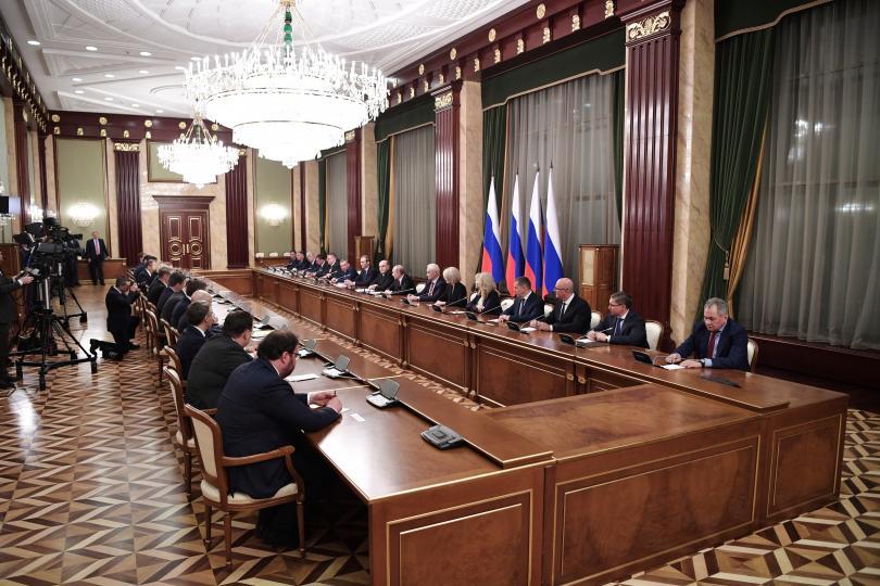 снимка 1 Владимир Путин назначи новото правителство на Русия