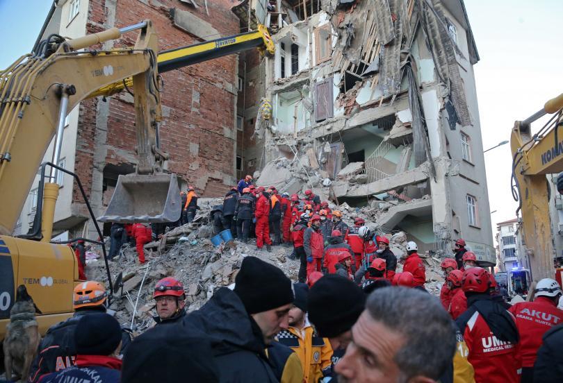 Земетресение с магнитуд 5,1 по Рихтер удари провинция Елязъг, съобщи