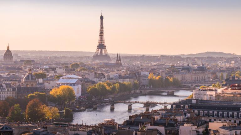 Мащабна транспортна стачка парализира днес френската столица. Парижкото метро почти