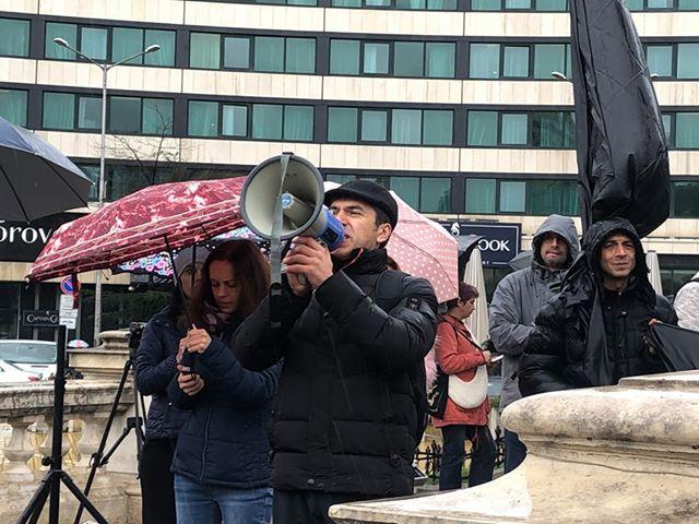 снимка 3 С викове Оставка започна протестът на майките пред НС