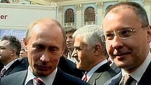 Премиерът Станишев се срещна на четири очи с руския си колега Путин