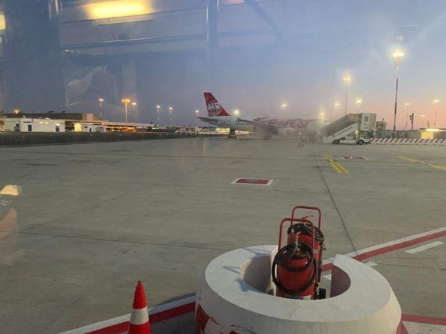 снимка 2 Самолет от България е приземен аварийно в Рим заради състоянието на пасажер