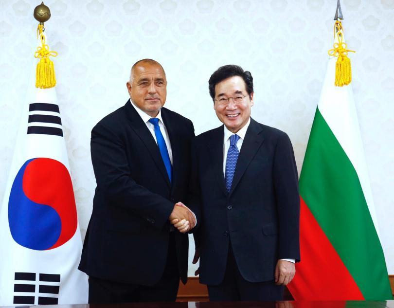 Южна Корея проявява интерес към участие в изграждането на инсталацията