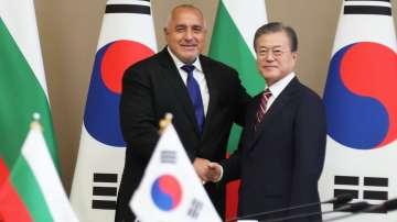 Премиерът Бойко Борисов се срещна с президента на Южна Корея Мун Дже-ин
