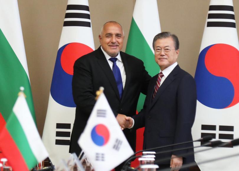 Срещата между двамата се проведе в Президентския дворец в столицата