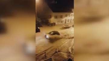 Водна стихия нанесе щети в Швейцария
