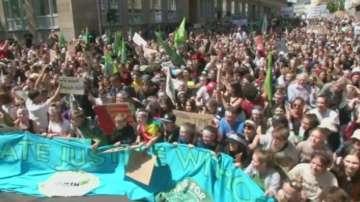 10 000 ученици се събраха на климатичен протест в Аахен