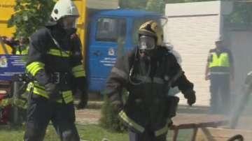 Мащабно учение за реакция при бури се проведе в София