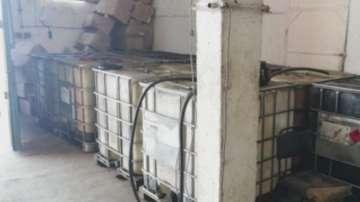 Два тона незаконно гориво са открити в пловдивското село Труд