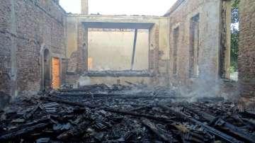 Пострадалите от пожара в Бухово ще бъдат настанени във временни общински жилища