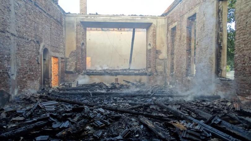 Вече няма бедстващи семейства след пожара в жилищен блок в