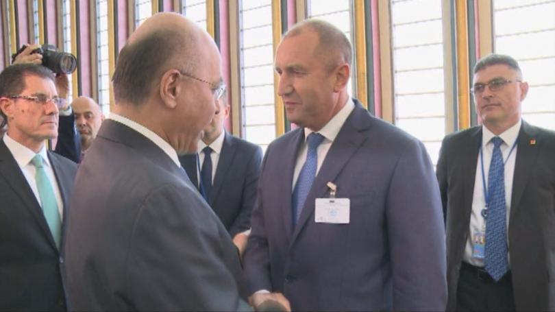 Продължава посещението на президента Румен Радев в Ню Йорк по