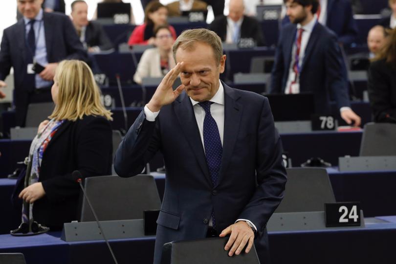 Председателят на Съвета на ЕС Доналд Туск призова всички европейски