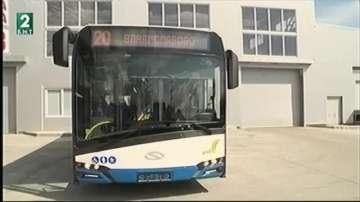 Новите автобуси идват във Варна през май